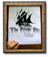 The Pirate Bay à l'image de Harry Potter