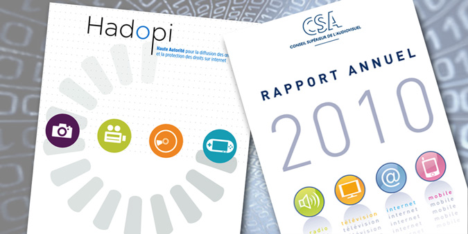 CSA vs Hadopi