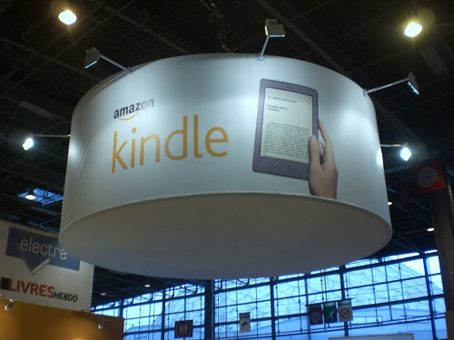 Le stand Amazon au Salon du Livre de Paris 2012