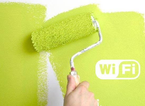 ondes radios une peinture sp ciale anti wi fi tech numerama. Black Bedroom Furniture Sets. Home Design Ideas