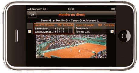 orange et france t l visions la tv mobile est ce de la. Black Bedroom Furniture Sets. Home Design Ideas