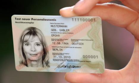 faire une nouvelle carte d identité La nouvelle carte d'identité allemande piratée par le Chaos