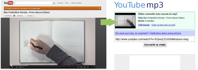 Convertir des vidéos YouTube en MP3 : les menaces de Google