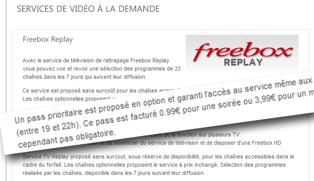 Free Fait Payer 3 99 Par Mois La Tv De Rattrapage Sans Accroc