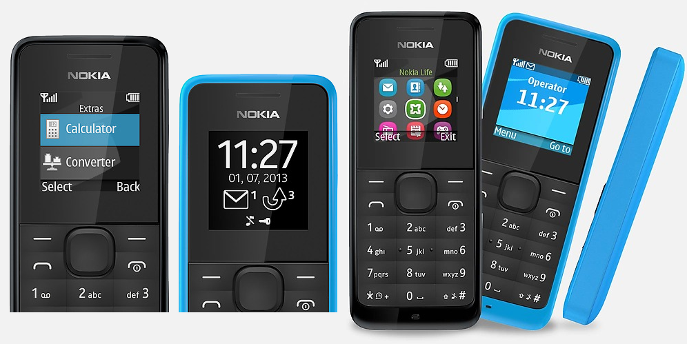 nokia 105 un t l phone 15 seulement tech numerama. Black Bedroom Furniture Sets. Home Design Ideas