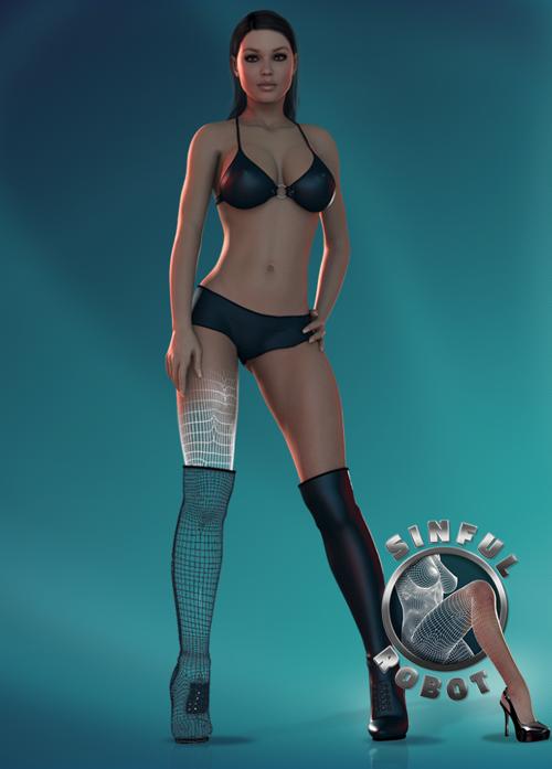 Femme de sexe virtuelle