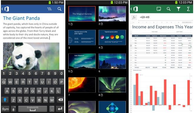 Office 365 pour android arrive en france m j tech numerama - Office 365 version d essai ...
