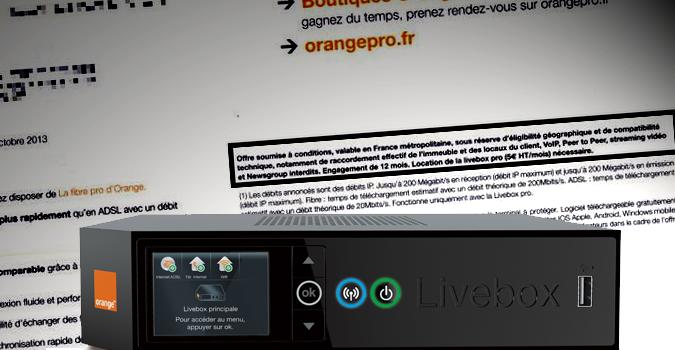 orange interdit youtube skype ou bittorrent sur l 39 adsl et fibre pro politique numerama. Black Bedroom Furniture Sets. Home Design Ideas