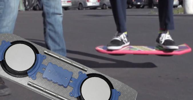 huvr le hoverboard de retour vers le futur en vrai ou pas tech numerama. Black Bedroom Furniture Sets. Home Design Ideas