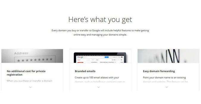 Domains google veut vendre des noms de domaine tech - Bureau d enregistrement nom de domaine ...