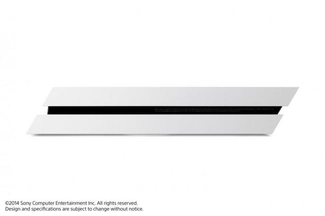 voici la playstation 4 en blanc pop culture numerama. Black Bedroom Furniture Sets. Home Design Ideas
