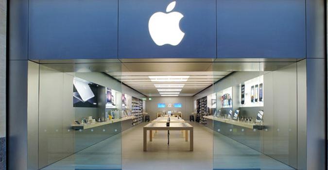 apple obtient l 39 exclusivit du design de ses apple store tech numerama. Black Bedroom Furniture Sets. Home Design Ideas