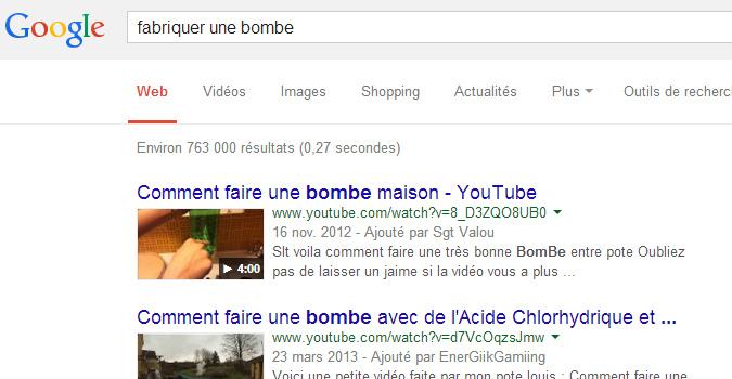 Faire Une Recherche Google Pourra être Un Acte De Terrorisme