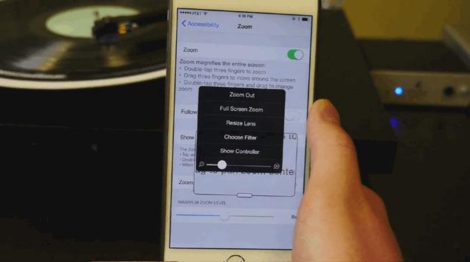 une astuce pour vraiment baisser la luminosit sur iphone tech numerama. Black Bedroom Furniture Sets. Home Design Ideas