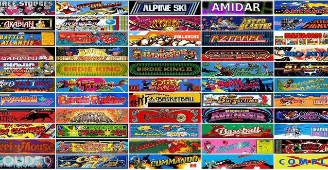 jeux d arcade connu