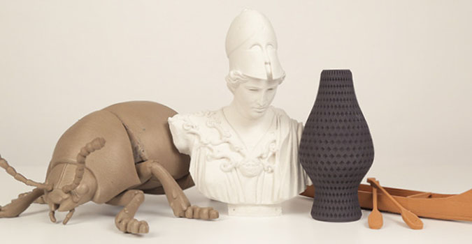 impression 3d makerbot proposera des filaments base de bois m tal et pierre sciences. Black Bedroom Furniture Sets. Home Design Ideas