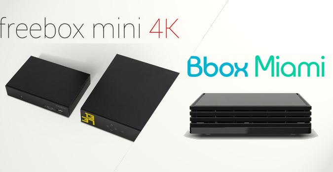freebox mini 4k vs bbox miami le comparatif business numerama. Black Bedroom Furniture Sets. Home Design Ideas