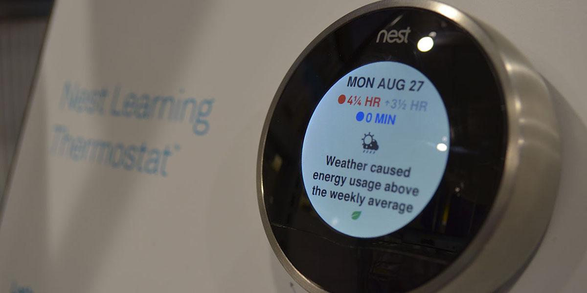 Un nouveau thermostat connect attendu chez nest labs tech numerama - Thermostat connecte nest ...
