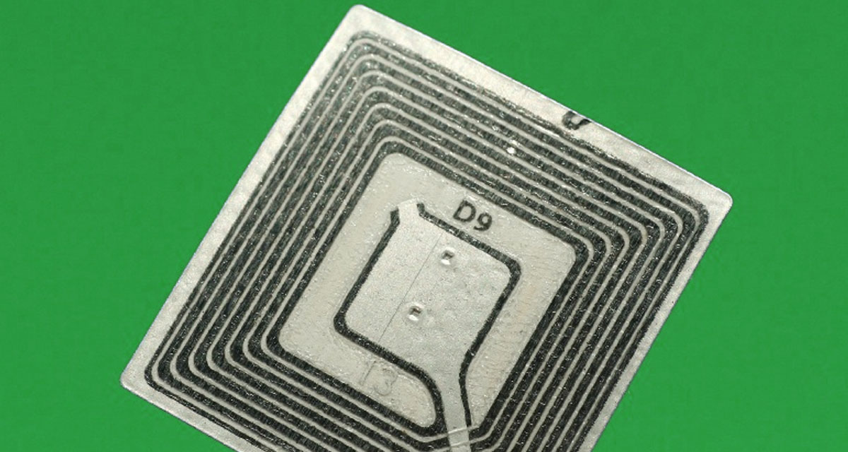 une puce RFID