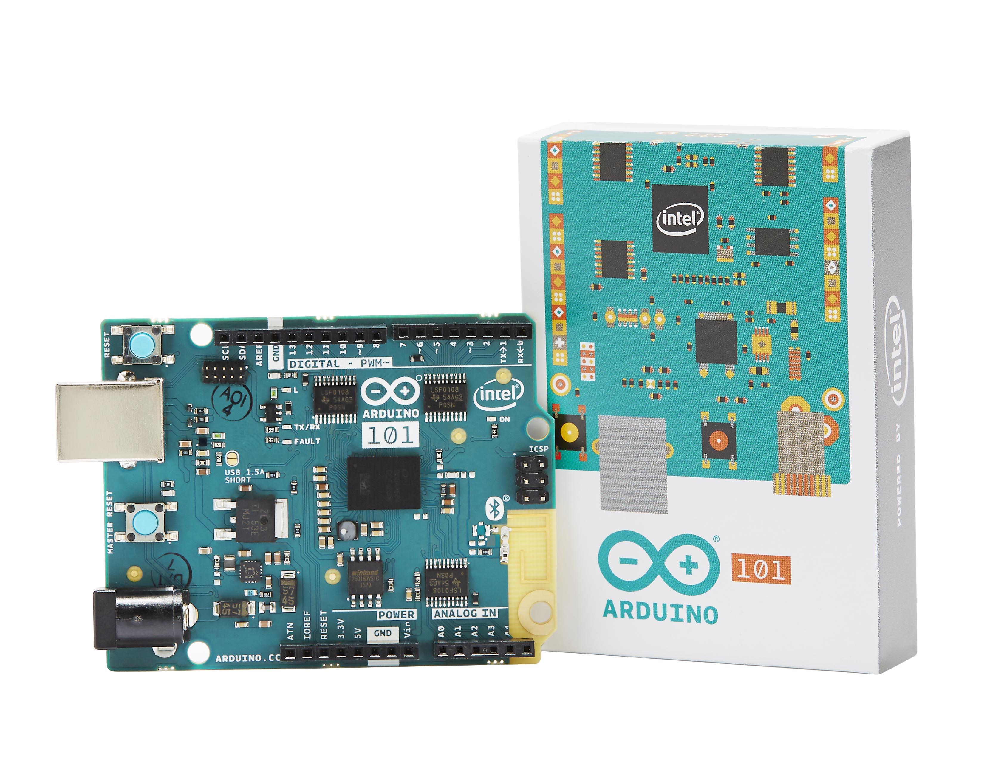 Découvrez Genuino 101, l'Arduino propulsé par Intel