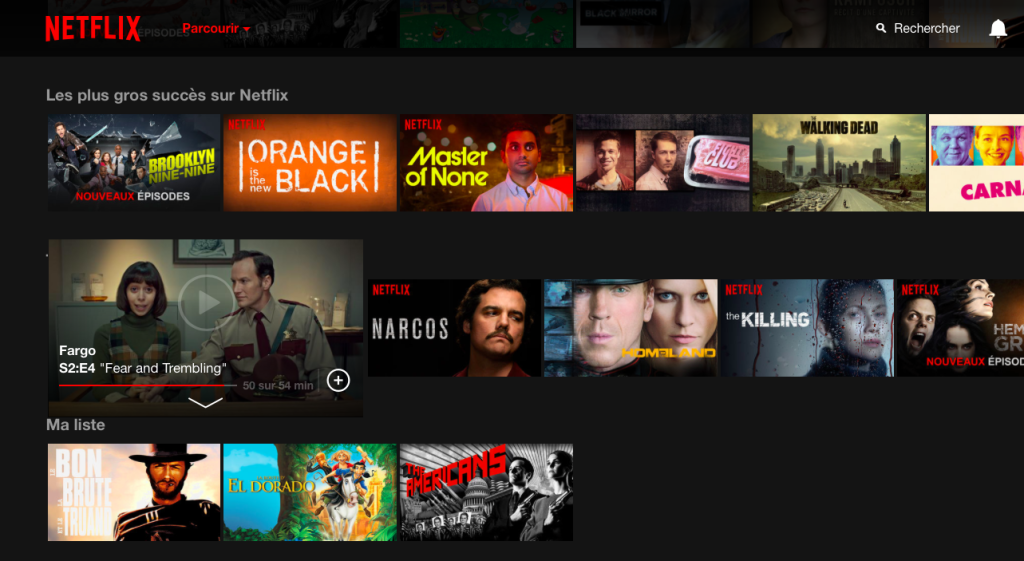 Netflix a débarqué en France