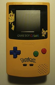 La Game Boy aux couleurs de Pikachu. Pika pika !
