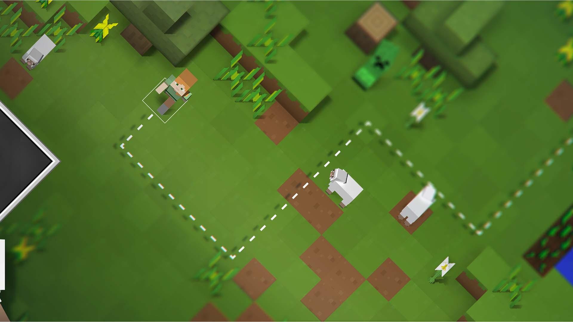 utilise minecraft pour faire d couvrir la programmation aux enfants tech numerama. Black Bedroom Furniture Sets. Home Design Ideas