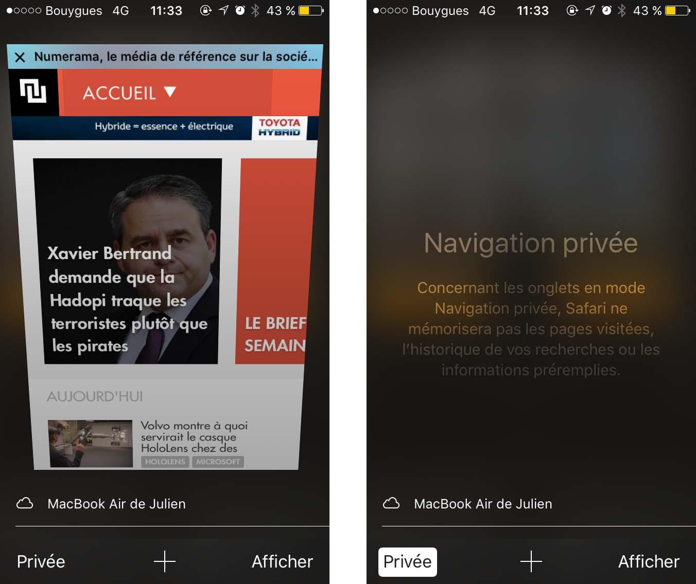 comment activer la navigation privée sur son navigateur web - tech