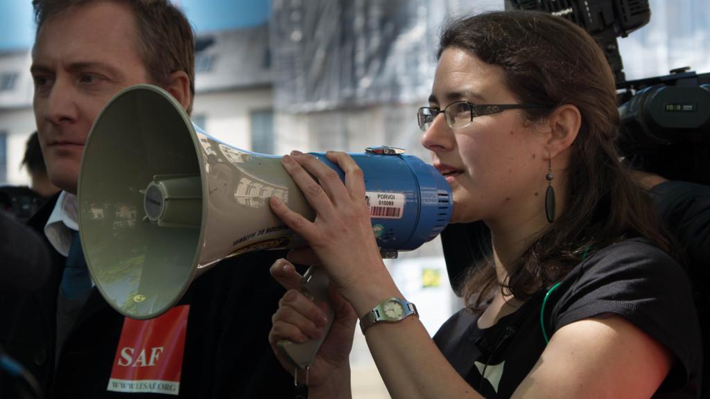 Adrienne Charmet-Alix, directrice des campagnes de la Quadrature du Net.