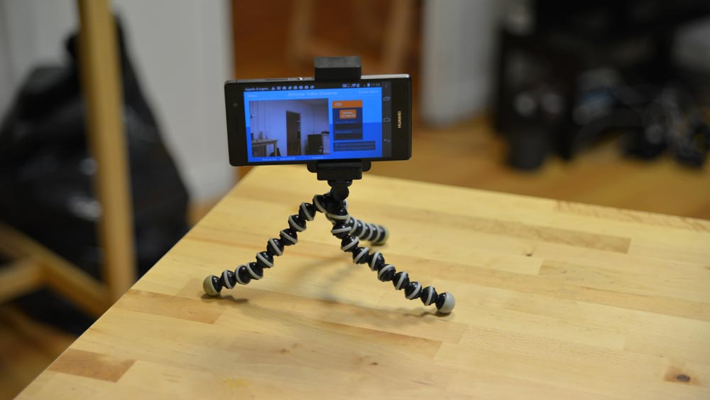 Transformez un vieux smartphone en caméra de sécurité