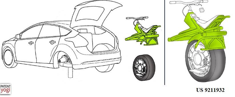 Ford réinvente la roue et la transforme en monocycle à moteur