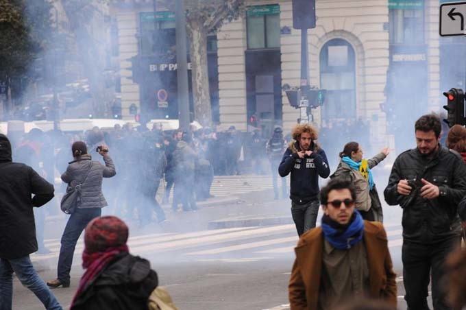Manifestation Paris anti-COP21