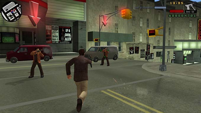 GTA Liberty City action