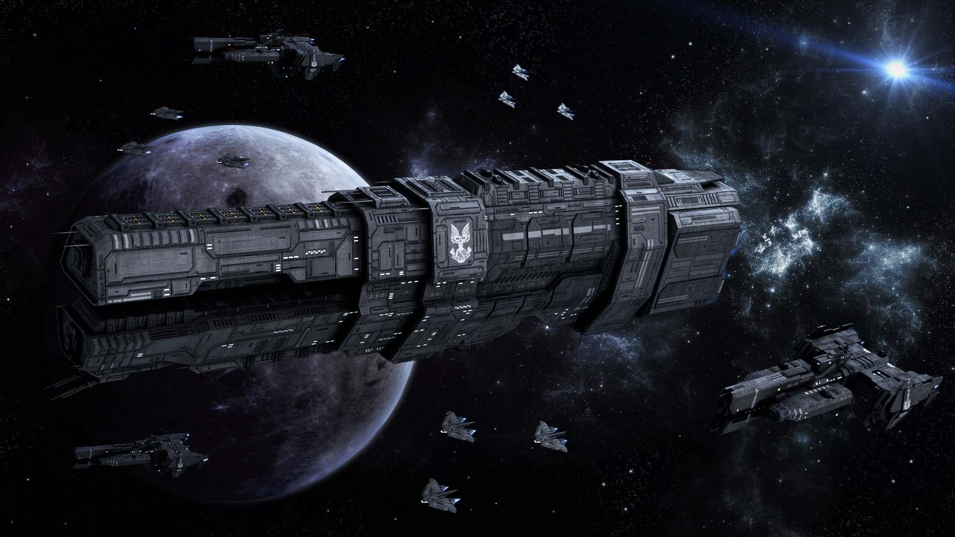 star wars star trek halo o sont les plus gros vaisseaux spatiaux pop culture numerama. Black Bedroom Furniture Sets. Home Design Ideas