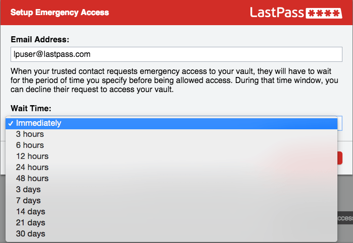Emergency_Access-set_time