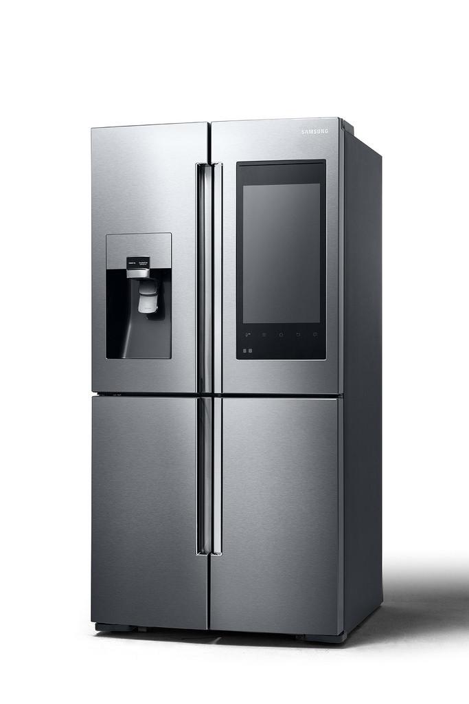 Ces 2016 le frigo connect de samsung avec cran xxl se - Cuisiner avec ce que l on a dans le frigo ...