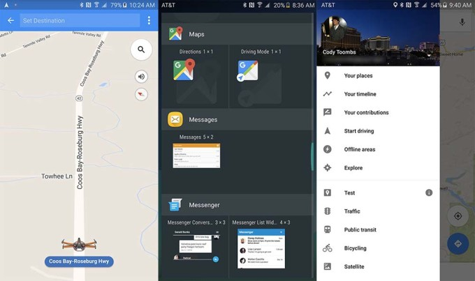 GMaps Driving Mode
