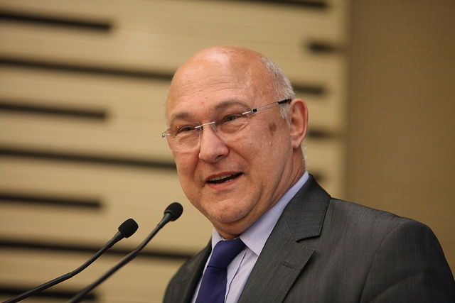 Michel Sapin, ministre des finances