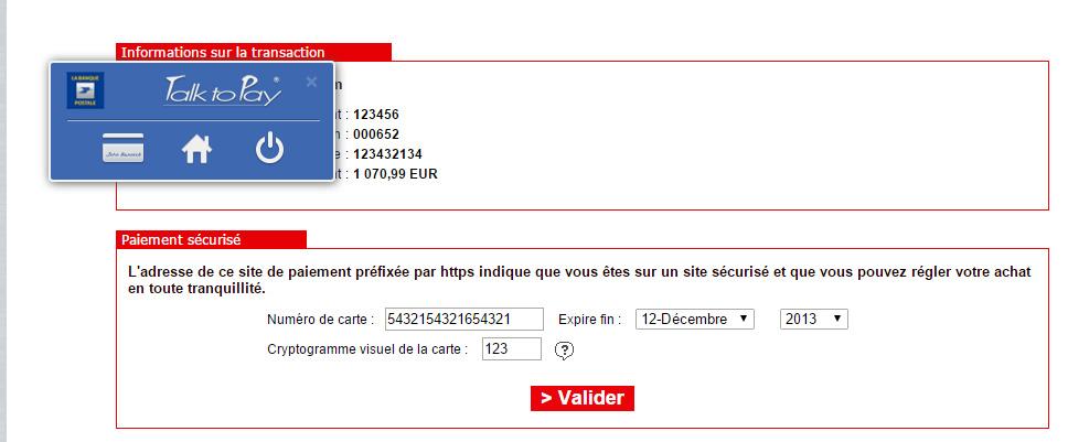 Talk To Pay, la biométrie vocale de la Banque Postale validée par la CNIL
