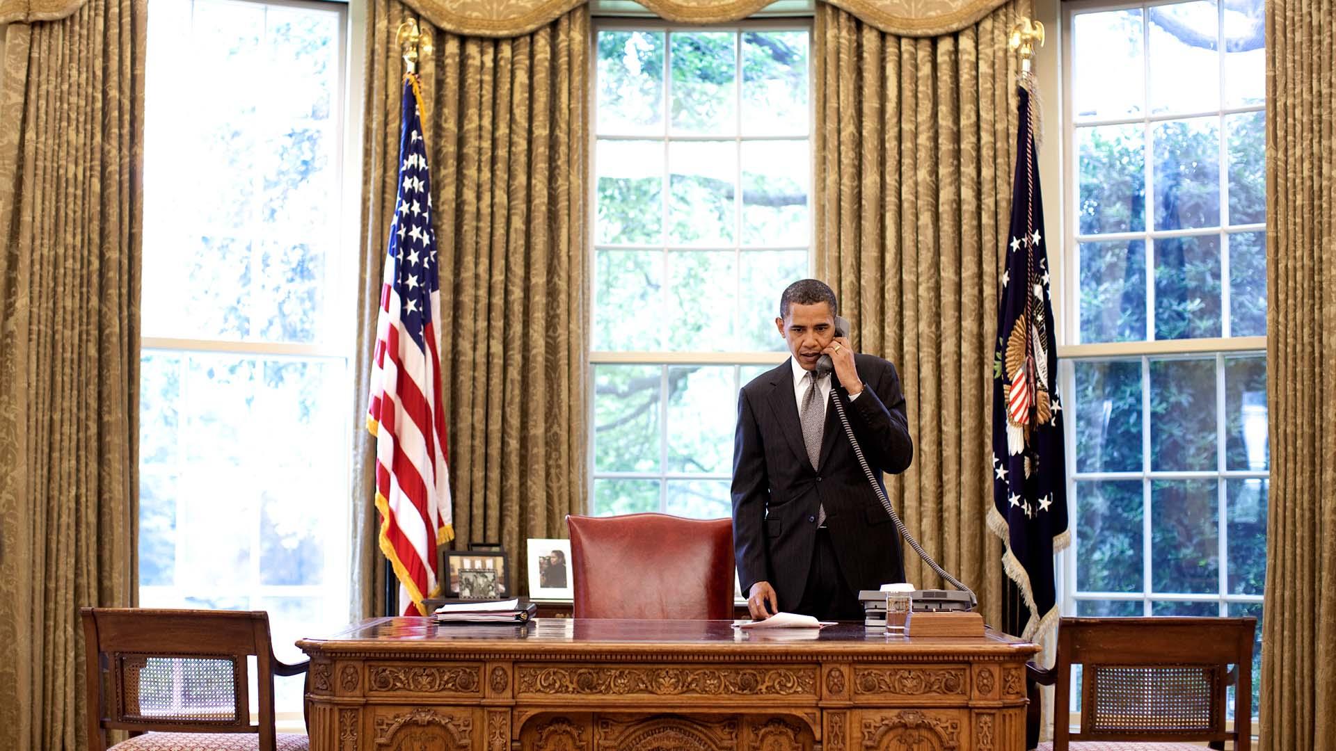 Obama veut faire la lumi re sur les attaques informatiques pendant l 39 lection politique numerama for Bureau ovale