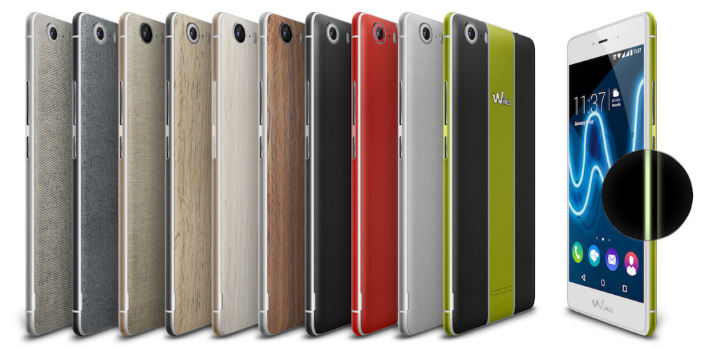 Wiko Fever Special Edition All Colors Compo MWC 2016