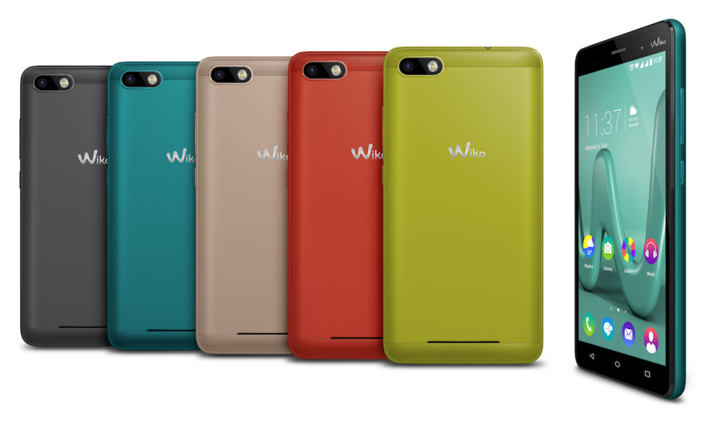 Wiko Lenny 3 All Colors Compo MWC 2016