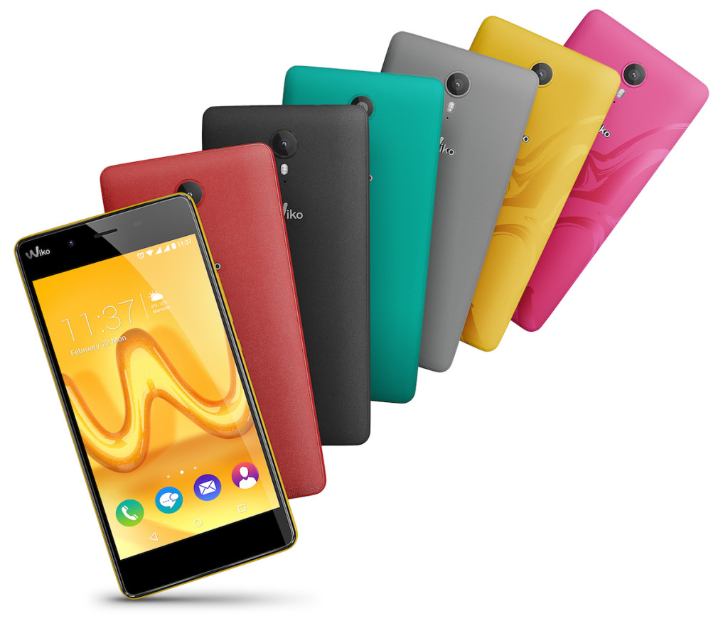 Wiko Tommy All Colors Compo MWC 2016