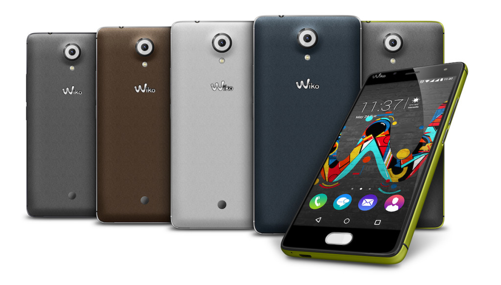 Wiko U Feel All Colors Compo MWC 2016