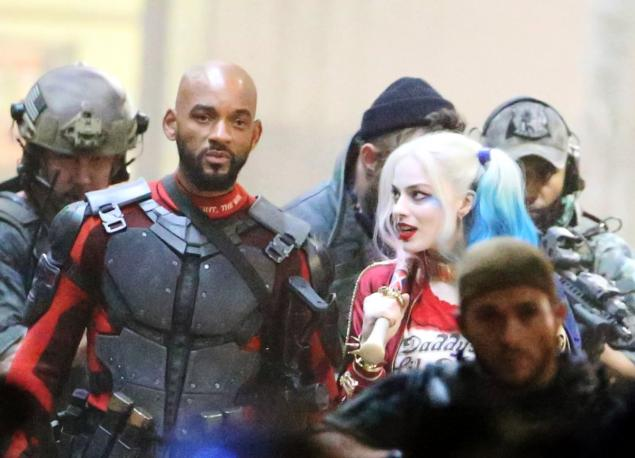 Will Smith aka Deadpool dans le film Suicide Squad