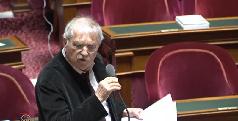 Pierre-Yves Collombat , sénateur RDSE