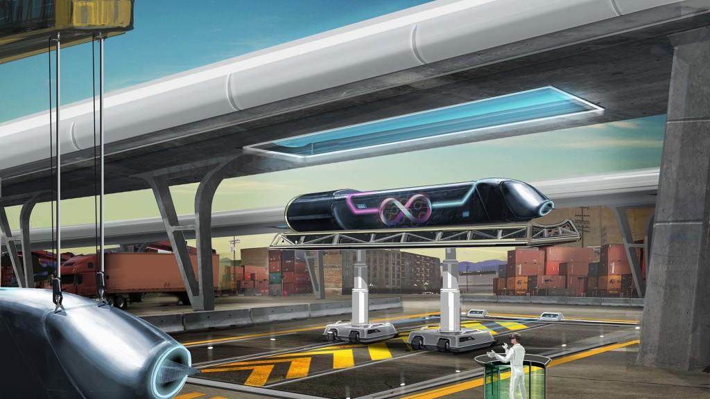 Hyperloop : la piste d'essai près de Toulouse reçoit ses premiers tubes d'acier dans News hyperloop-1024x576