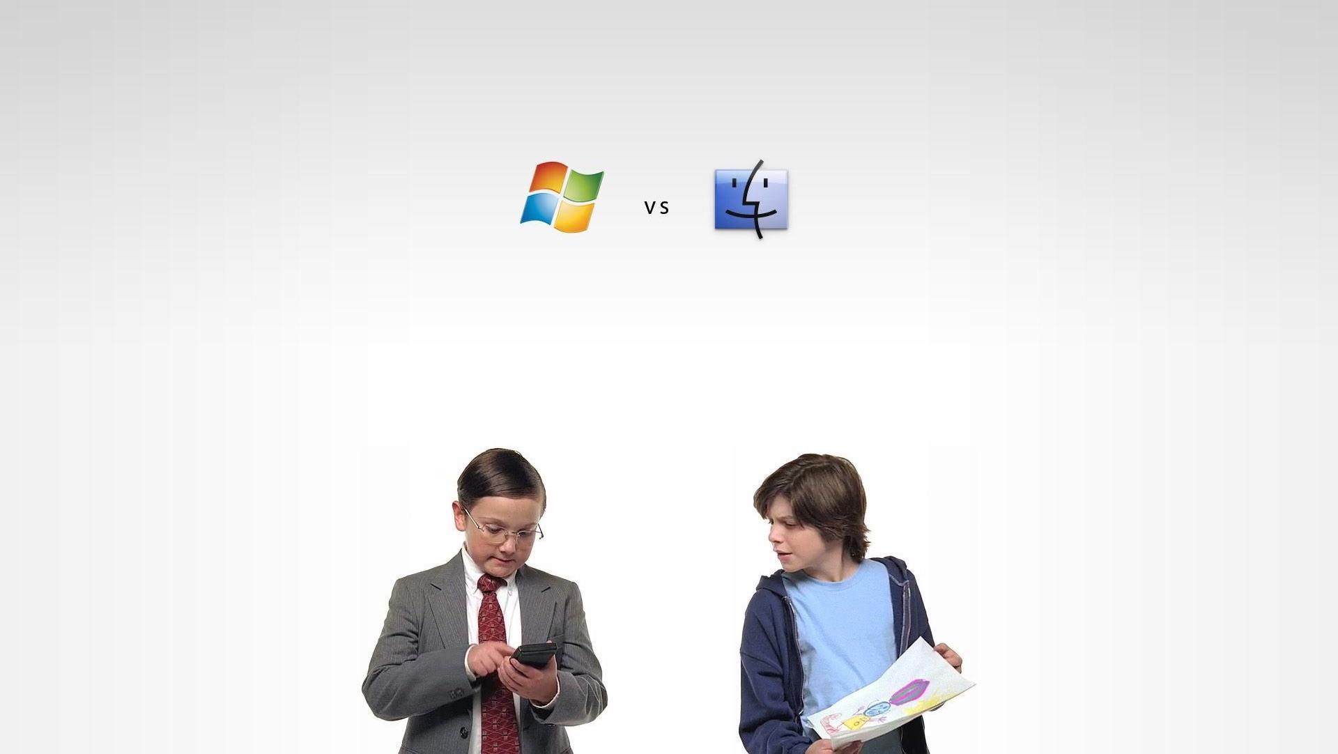 Mac contre PC, histoire d'un clivage qui n'a plus aucun sens