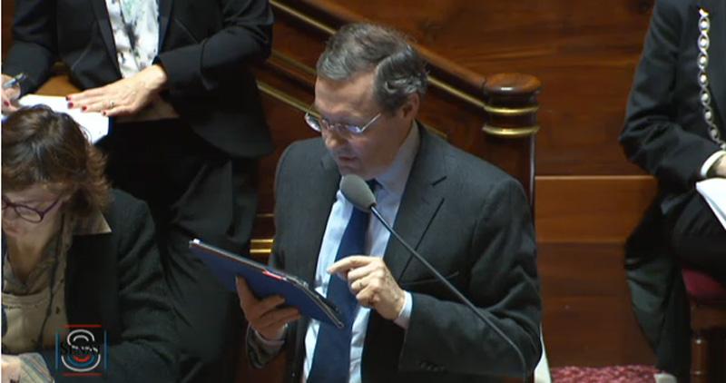 Philippe Bas, sénateur LR.