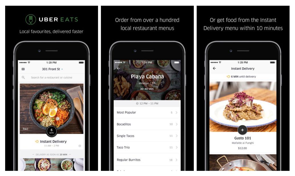 uber prend d 39 assaut la foodtech en faisant d 39 ubereats une application autonome business numerama. Black Bedroom Furniture Sets. Home Design Ideas
